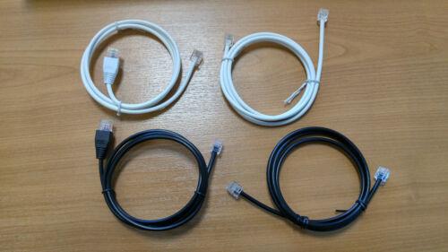 1M-30M BT ADSL+INFINITY FIBRE SOLID COPPER CAT5e RJ11 RJ45 BROADBAND CABLE LEAD
