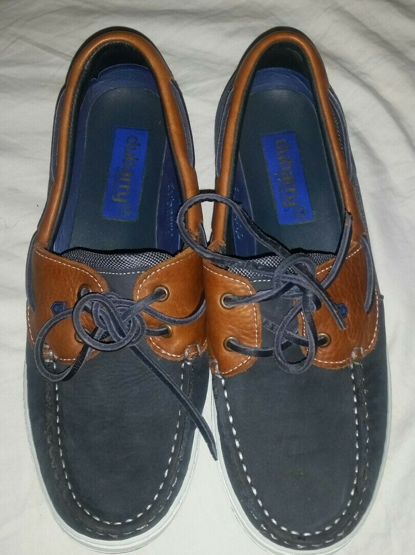 DUBARRY Blue Leather Loafers Women Size US 8/