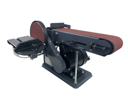 Heavy Duty électrique Bench Sander Belt /& disc ponçage rectifieuse 90 °