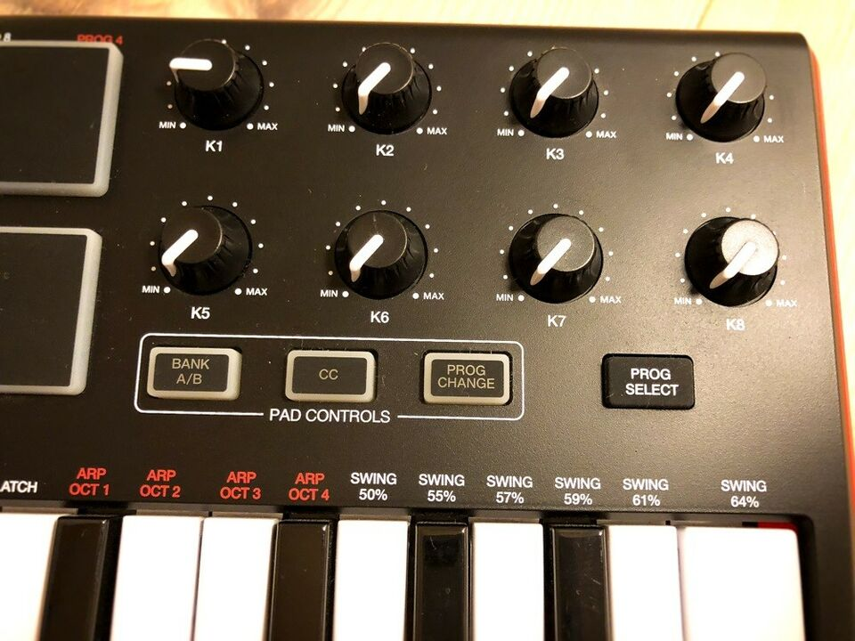 Midi keyboard, AKAI MPK mini