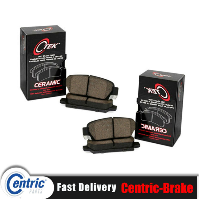 Centric Front + Rear Ceramic Brake Pads 2SET Fits 2009