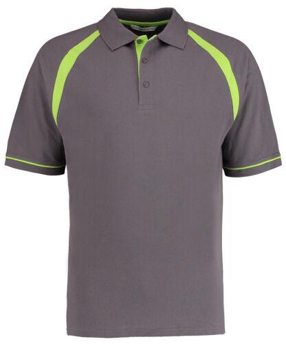 Kustom Kit Men/'s Oak Hill Polo Shirt 100/% Cotton Active Sports Wear Top KK615