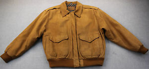 HUNT-CLUB-Womens-Brown-100-Genuine-Leather-Riding-Jacket-Coat-Pre-Owned