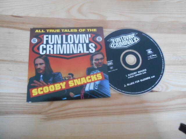 CD Pop Fun Lovin' Criminals - Scooby Snacks (2 Song) CHRYSALIS DiFONTANE