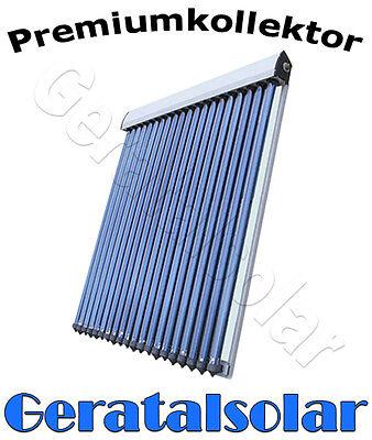 Solaranlage Vakuumröhren Röhrenkollektor Solarkollektor Förderfähig Heat Pipes