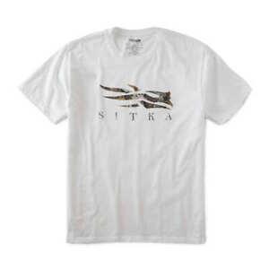 Sitka  Core PO Logo Black Tee Shirt 20170