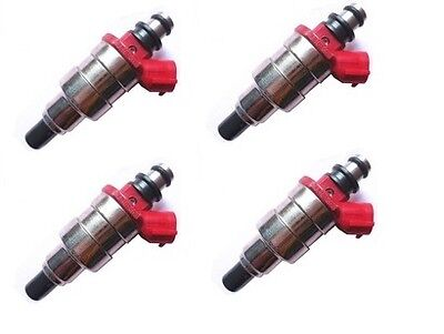4 Genuine Fuel Injectors INJ For Mazda B2600 2.6L G6 Ford Raider Courier ASNU