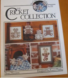 CRICKET-COLLECTION-22-CROSS-STITCH-LEAFLET