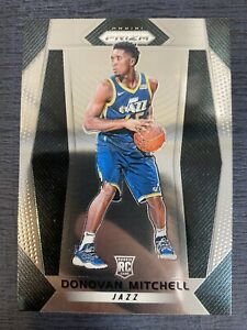2017-18-PANINI-PRIZM-DONOVAN-MITCHELL-RC-ROOKIE-BASE-CARD-117-UTAH-JAZZ
