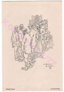Graphik-aus-Kunst-und-Leben-1920-Heinrich-Vogeler-Aus-Ost-Galizien