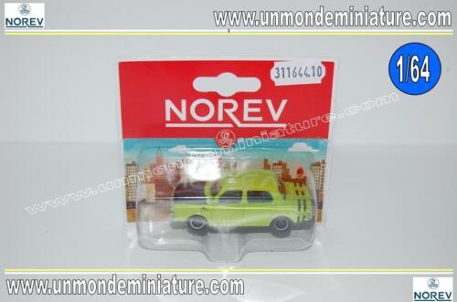 NO 311644.10 Simca 1000 Rallye Rétro Blister NOREV Echelle 1//64