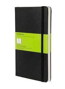 Moleskine-13x21-cm-Hardcover-Notizbuch-240-Seiten-schwarz-blanko