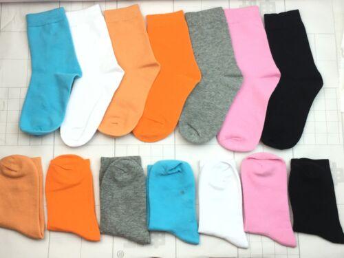 New Kids Boys Girls Cute Warm Candy Socks Cotton scoks Cozy size Colors