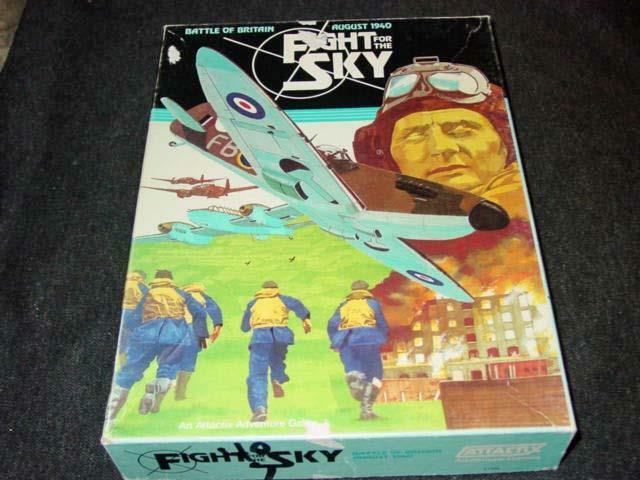 Attactix Juegos 1982  lucha por el cielo-agosto 1940-Batalla de Gran Bretaña (juego de palabras)