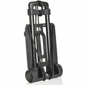 Miami-Carry-On-Folding-Luggage-Cart-Trolley-Dolly-Cart-Carry-up-to-65lbs-Black