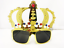Crown Novelty Sunglasses Fancy Dress Stag Disco Hen Birthday KING Costume Party