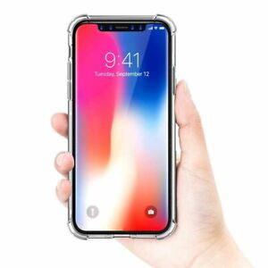 promo code 74a48 1ca51 Details about Luxury Ultra Slim Shockproof Corner Bumper Clear Case Cover  Iphone X XSMax 8Plus