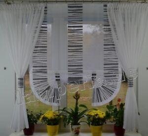 Moderne Gardinen Wohnzimmer Fensterdekoration Zebra Fenster 120 -180 ...