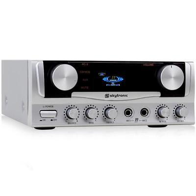[RICONDIZIONATO] MINI AMPLIFICATORE STEREO HI FI DJ PA AUDIO KARAOKE 400W HOME C