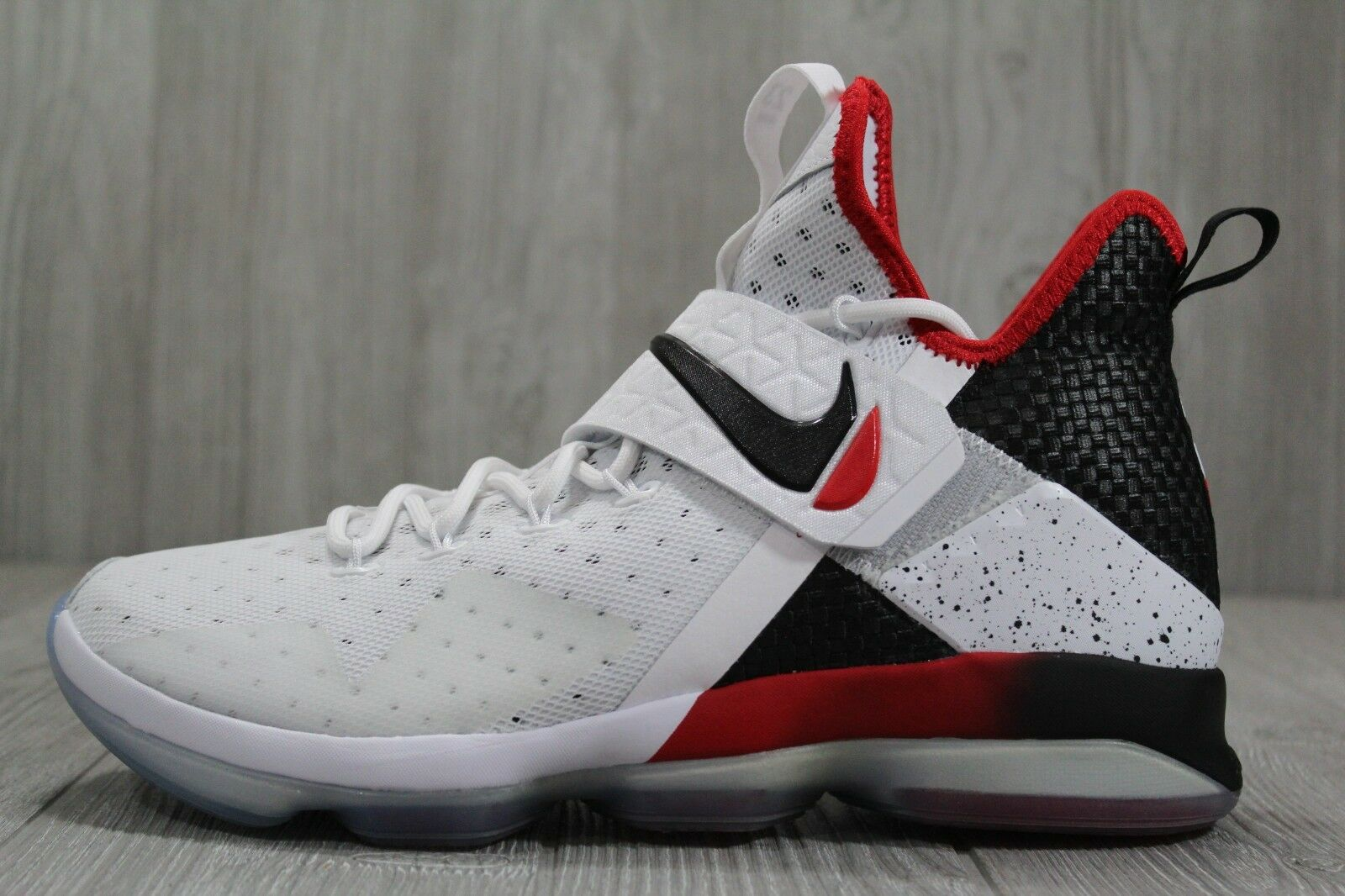 35 Nike Lebron XIV 14 Flip The Switch White Black shoes 10.5 11 16 852405-103