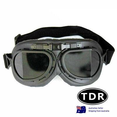 Goggles harley Vintage davison baron aviator flying cafe racer motorcross sport