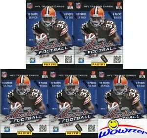 5-2012-Panini-Absolute-Football-EXCLUSIVE-Factory-Sealed-Blaster-Box