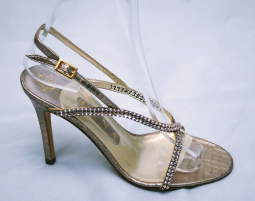 Champagne 36 3 3971 Astor Gina 425 £ Diamanté Rrp 5 5 eu Bnwb Sandals Uk 58wqTB