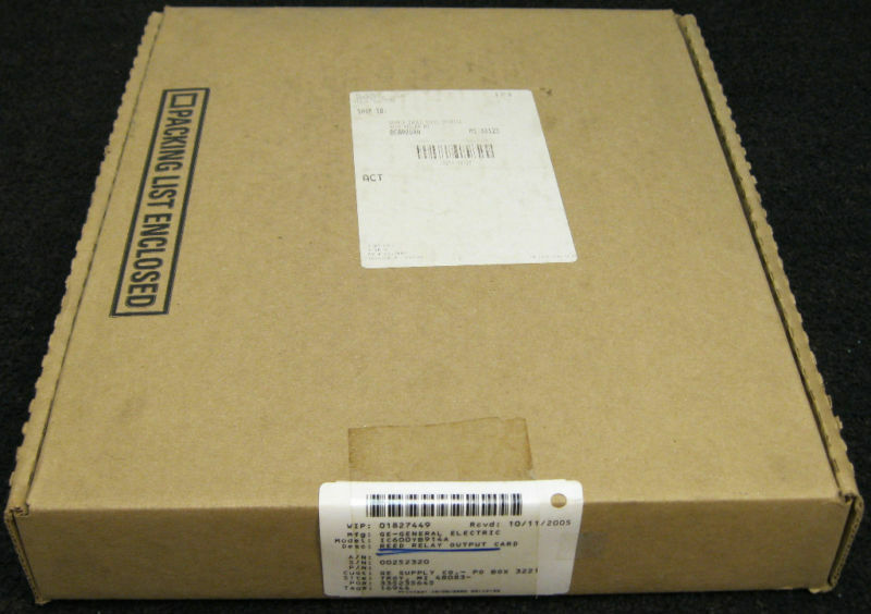 GE Power IC600YB914A  Reed Output Card   New Surplus