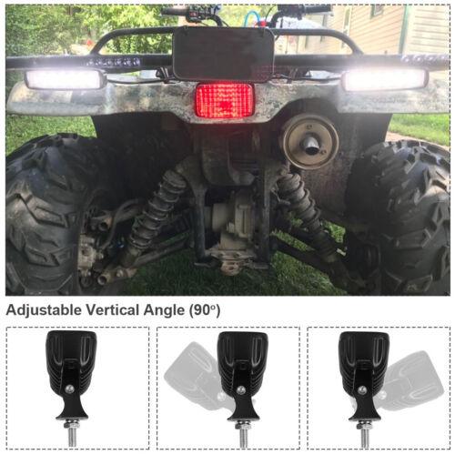 """4pcs 6INCH 72W LED WORK LIGHT BAR Spot OFFROAD ATV FOG TRUCK LAMP 4WD 12V 6/"""""""