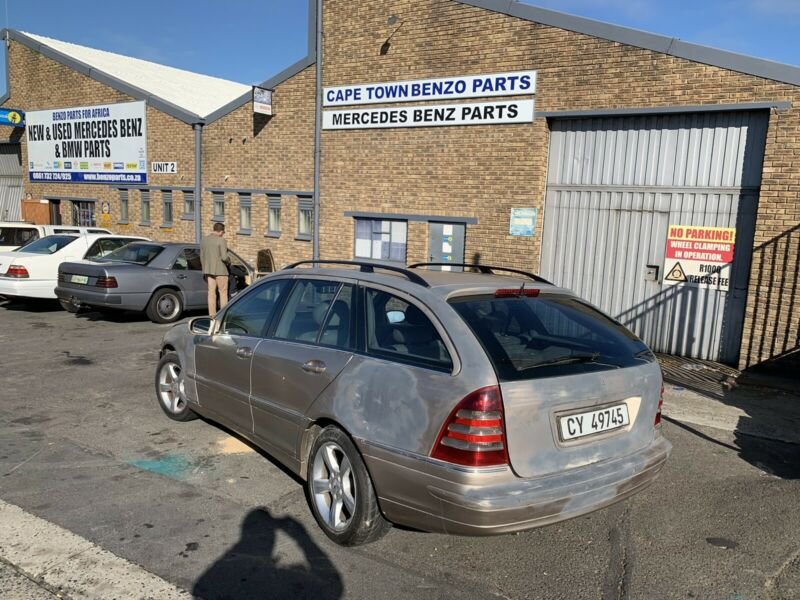 BENZO PARTS NOW STRIPPING: 2005 MERCEDES-BENZ C270CDI STATION WAGON