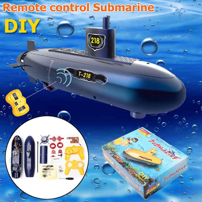 Funny RC Mini Submarine 6 Channels Remote Control Under Water Ship RC Boat Model