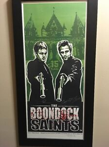 Boondocks-Saints-SIGNED-AUTO-Bloody-Variant-Art-Print-64-99-Reedus-Flannery