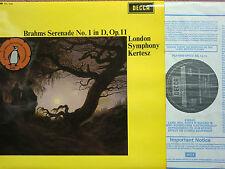 SXL 6340: Brahms Serenade No. 1 cond. Kertesz / LSO