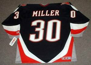 7685a5814 RYAN MILLER Buffalo Sabres 2005 Home CCM Throwback NHL Hockey Jersey ...