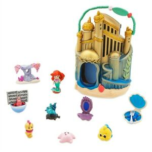 Disney-Store-Animators-039-s-Collection-Littles-Ariel-039-s-Undersea-Palace-Playset