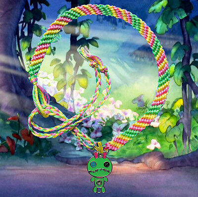Disney Lilo /& Stitch friendship bracelet with Angel charm FREE UK POST