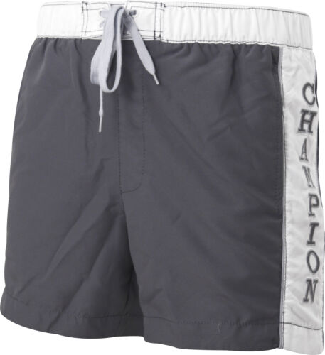Grey Champion Logo Mens Swim Shorts