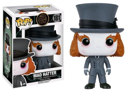 Mad Hatter Pop #181. Alice Through the Looking Glass Vinyl Figure