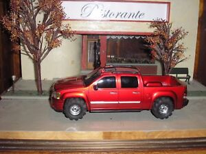 Details about RARE CUSTOM Off Road GMC Sierra Denali Toy Pickup Truck 1:24  Red FREE SHIPPING