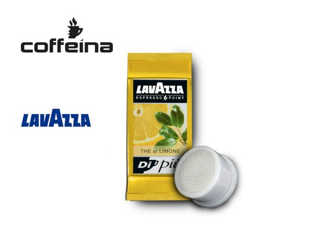 Offerta 50 Capsule caffè Lavazza Espresso Point ep Thè te gusto Limone COFFEINA