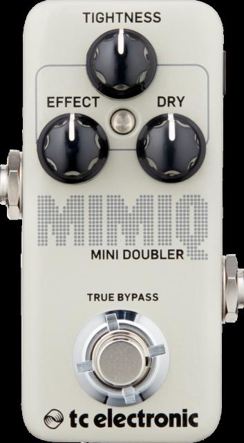 TC ELECTRONIC Mimiq Mini Doubler Pedal Guitar Effect Pedal