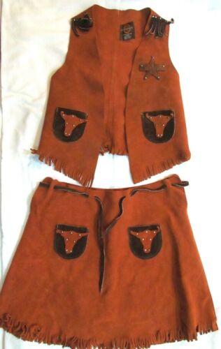 John R. Craighead Western Cowgirl Outfit Costume Y