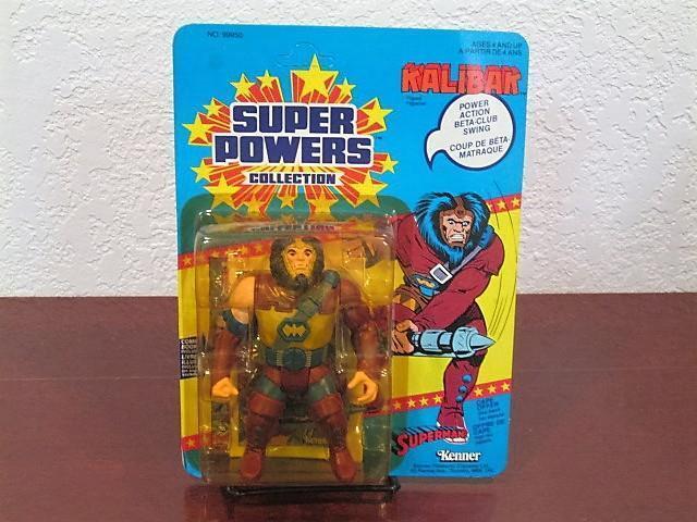 1985 SUPER POWERS KALIBAK FIGURE MINT SEALED UNPUNCHED MOC KENNER