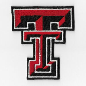 NCAA-Texas-Tech-Red-Raiders-Iron-on-Patches-Embroidered-Patch-Applique-Badge