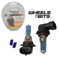 HB4 9006 12v 55w HALOGEN HID XENON GAS FILLED BULBS upto 50% BRIGHTER COOL BLUE