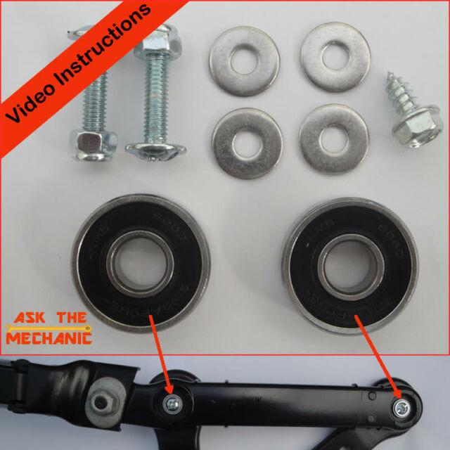 Fits BMW 5 & 6 Series E60 E61 Drivers Wiper Arm Bearings Repair Kit B Later Type