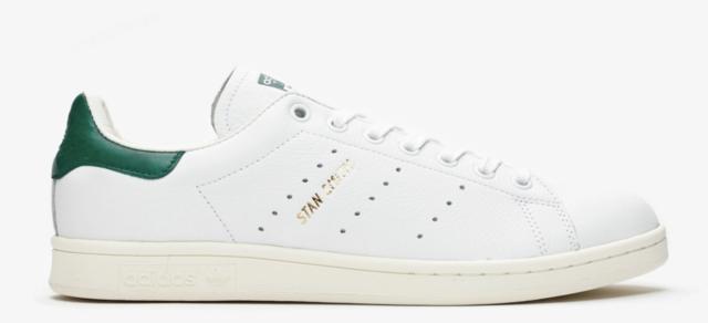 New! adidas STAN SMITH Cq2871 Ftw White/Ftw White/Collegiate Green n1