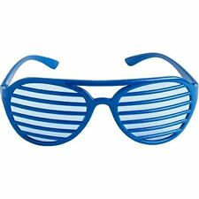 b63b0a71331 Blue Shutter Shades Slotted Sunglasses Fashion Eyewear