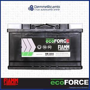 BATTERIA-AUTO-FIAMM-VR800-ecoFORCE-AGM-START-amp-STOP-80Ah-800A-315x175x190