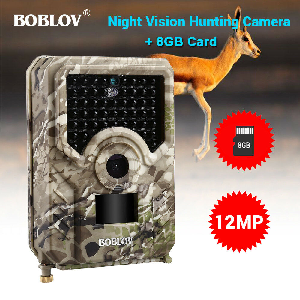 12MP 1080P Trail Hunting Camera +  8GB Card IP56 Animal Outdoor Scouting Camera  we take customers as our god
